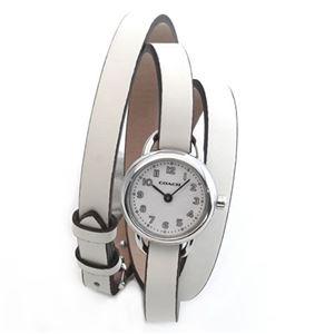 Coach(コーチ) 3ラップ・ストラップ 小ぶりでフェミニンなレディス腕時計 14501980 - 拡大画像