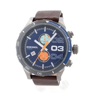 DIESEL(ディーゼル) DZ4350 ダブルダウン・クロノグラフ 腕時計 - 拡大画像