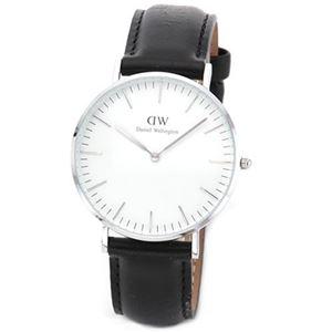 Daniel Wellington(ダニエルウェリントン) 0608DW シェフィールド 36mm Classic(クラシック)メンズ・ユニセックス腕時計 - 拡大画像