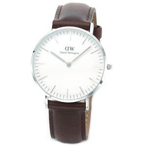Daniel Wellington(ダニエルウェリントン) 0611DW ブリストル 36mm Classic(クラシック)メンズ・ユニセックス腕時計 - 拡大画像