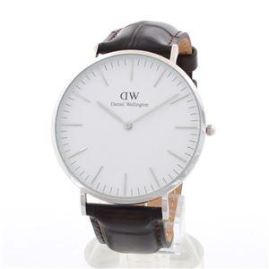 Daniel Wellington(ダニエルウェリントン) 0211DW ヨーク 40mm Classic(クラシック) メンズ腕時計 - 拡大画像