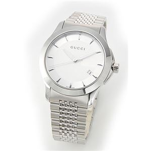 Gucci(グッチ) メンズ 腕時計 クラシック・コレクション メンズ・ブレスウオッチ YA126401 - 拡大画像