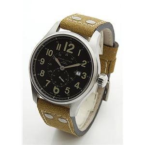 HAMILTON(ハミルトン) メンズ 腕時計 KHAKI(カーキ・コレクション)FIELD Khaki Officer Auto(カーキ オフィサーオート) H70655733 - 拡大画像