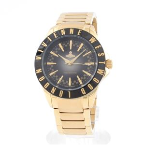 Vivienne Westwood(ヴィヴィアンウエストウッド) VV099BKGD レディス腕時計 - 拡大画像