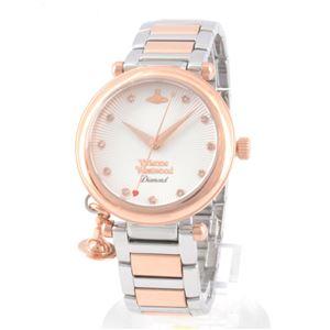 Vivienne Westwood(ヴィヴィアンウエストウッド) VV006SLRS レディース 腕時計 - 拡大画像