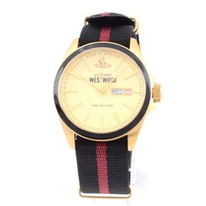 Vivienne Westwood(ヴィヴィアンウエストウッド) VV068GDBK メンズ 腕時計 - 拡大画像