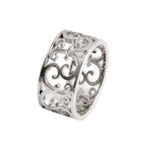 Tiffany&CO(ティファニー)31043506 エンチャント ワイド リング US6.5 (日本サイズ12.5号相当) 指輪