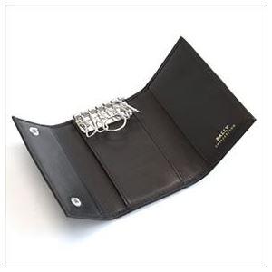 Bally(バリー) TUTO 290 BLACK 6連キーケース カーフ h02