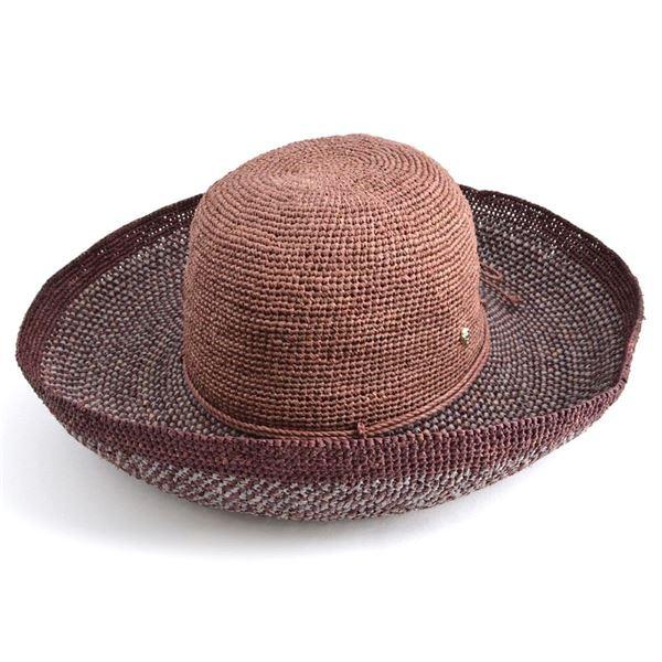 HELEN KAMINSKI(ヘレンカミンスキー) Provence 12 Block/Mystic ≪2016SS≫プロバンス10 夏の定番♪丸めて収納可能なラフィア製ローラブルハット レディス帽子f00