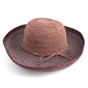 HELEN KAMINSKI(ヘレンカミンスキー) Provence 12 Block/Mystic ≪2016SS≫プロバンス10 夏の定番♪丸めて収納可能なラフィア製ローラブルハット レディス帽子 h02