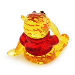 SWAROVSKI(スワロフスキー)1142889 Winnie the Pooh ディズニー くまのプーさん 「プーさんとハチミツの壺」 クリスタル フィギュア 置物 h03