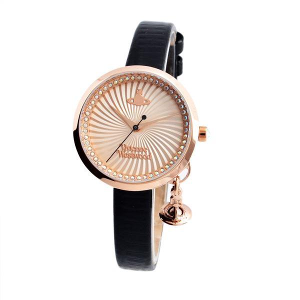 Vivienne Westwood(ヴィヴィアンウエストウッド)VV139RSBK レディース 腕時計f00