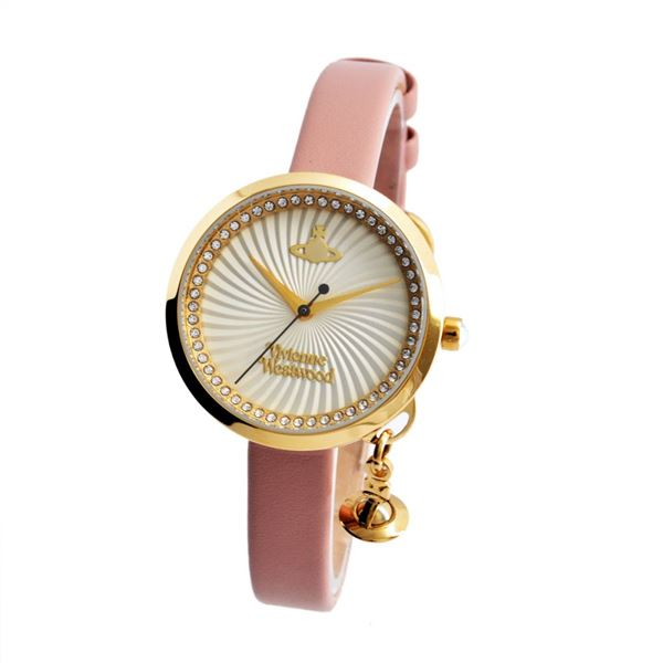 Vivienne Westwood(ヴィヴィアンウエストウッド)VV139WHPK レディース 腕時計f00