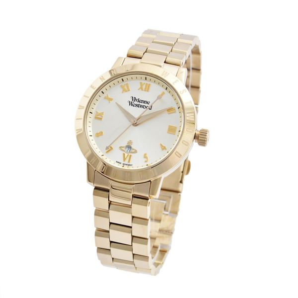 Vivienne Westwood(ヴィヴィアンウエストウッド)VV152GDGD レディース 腕時計f00