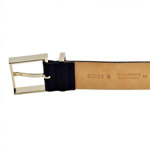 MAISON BOINET(メゾンボワネ) 95009G 79 3 Navy M ベルトタイプ レザー ブレスレット バングル 30mm h02