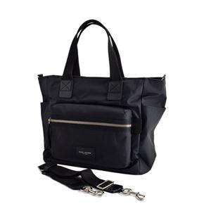 MARC JACOBS(マークジェイコブス) M0008297 1 Black ナイロン マザーズバッグ 2WAY ショルダー オムツ換えシート付 Nylon Biker Babybag