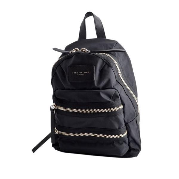 MARC JACOBS(マークジェイコブス) M0008298 1 Black ナイロン ミニ バックパック リュックサック Nylon Biker Mini Backpackf00