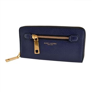 MARC JACOBS(マークジェイコブス) M0008449 415 Midnight Blue ラウンドファスナー長財布 Gotham Standard Continental Wallet h01