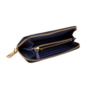 MARC JACOBS(マークジェイコブス) M0008449 415 Midnight Blue ラウンドファスナー長財布 Gotham Standard Continental Wallet h03