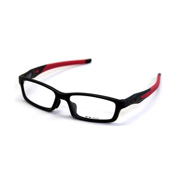 OAKLEY(オークリー) メガネ フレーム OX8029-0856/CROSSLINK FR サテンブラック レッド アジアンフィットf00