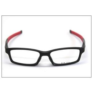 OAKLEY(オークリー) メガネ フレーム OX8029-0856/CROSSLINK FR サテンブラック レッド アジアンフィット h02