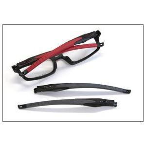OAKLEY(オークリー) メガネ フレーム OX8029-0856/CROSSLINK FR サテンブラック レッド アジアンフィット h03