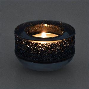 Swarovski(スワロフスキー) 5108876 Shimmer Tea Light Grey クリスタルロック ティーライト キャンドルホルダー グレー
