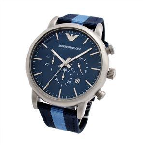 Emporio Armani(エンポリオ・アルマーニ) AR1949 クロノグラフ メンズ腕時計 h01