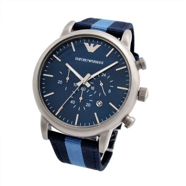 Emporio Armani(エンポリオ・アルマーニ) AR1949 クロノグラフ メンズ腕時計f00