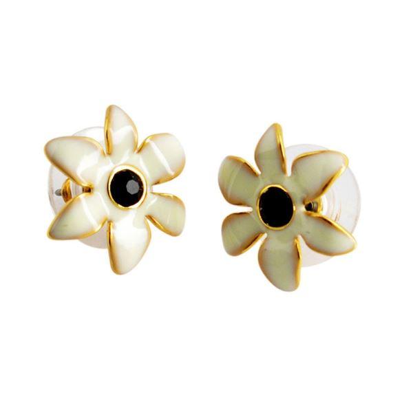 Kate Spade(ケイトスペード) WBRUC406-143 Cream Multi Lovely Lillies Mini Flower Studs フラワーモチーフ スタッド ピアスf00