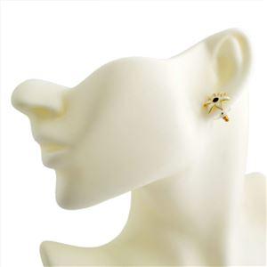 Kate Spade(ケイトスペード) WBRUC406-143 Cream Multi Lovely Lillies Mini Flower Studs フラワーモチーフ スタッド ピアス h03