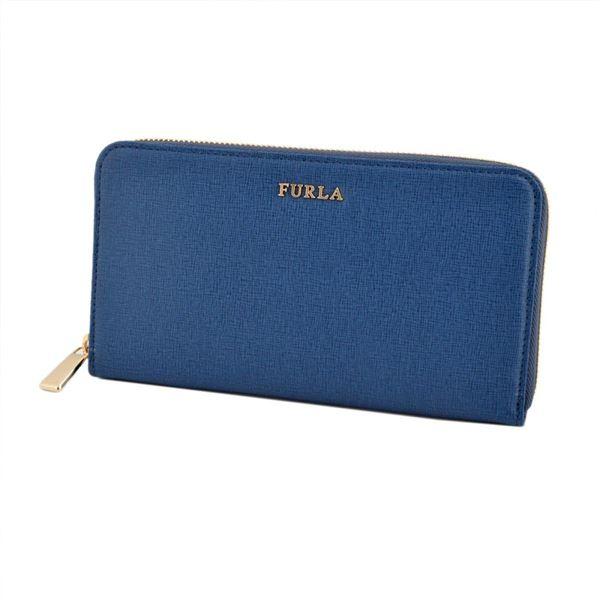 FURLA(フルラ) 826450 PN08 B30 BLU COBALTO バビロン ラウンドファスナー 長財布 BABYLON XLf00