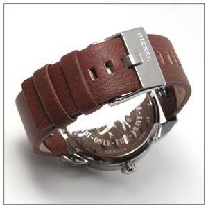 DIESEL(ディーゼル) 腕元を主張する3Dインデックス。2Time表示のブレス・ウォッチ DZ7309 h03