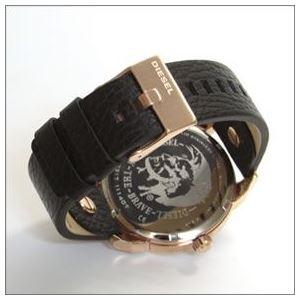 DIESEL(ディーゼル) 腕元を主張する3Dインデックス。2Time表示のブレス・ウォッチ DZ7317 h03