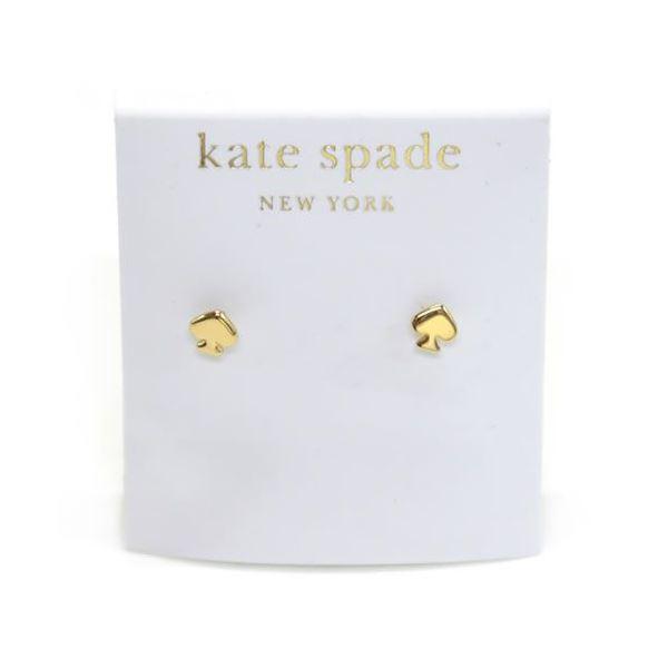 Kate Spade(ケイトスペード) SIGNATURE SPADE mini studs スペード型 ミニ ピアス WBRU3916-711f00