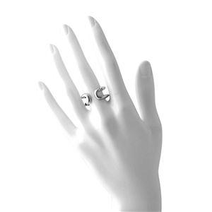 MARC JACOBS(マークジェイコブス) M0009229-040 #6 Silver 「J」ロゴモチーフ アイコン リング 指輪 日本サイズ11号相当 Icon Band Ring h03