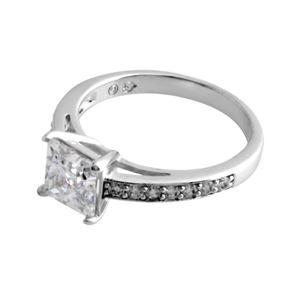 SWAROVSKI(スワロフスキー) 5032914 Attract Square クリスタル/クリスタルパヴェ リング 指輪 サイズ50(日本サイズ9号) h02
