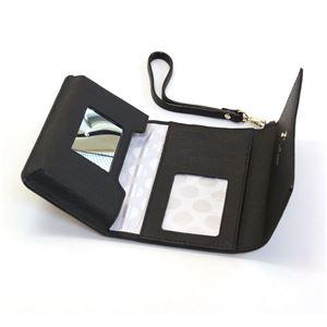 Kate Spade(ケイトスペード) 8ARU1099 001 Black ストラップ付 アイフォンケース (iphone6・6s専用) スマホバッグ Cedar Street IPhone 6 Leather Wristlet h02