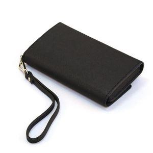 Kate Spade(ケイトスペード) 8ARU1099 001 Black ストラップ付 アイフォンケース (iphone6・6s専用) スマホバッグ Cedar Street IPhone 6 Leather Wristlet h03