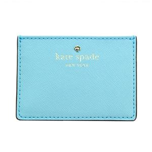 Kate Spade(ケイトスペード) PWRU4027 439 Atoll Blue カードケース 名刺入れ Cedar Street Card Holder h01