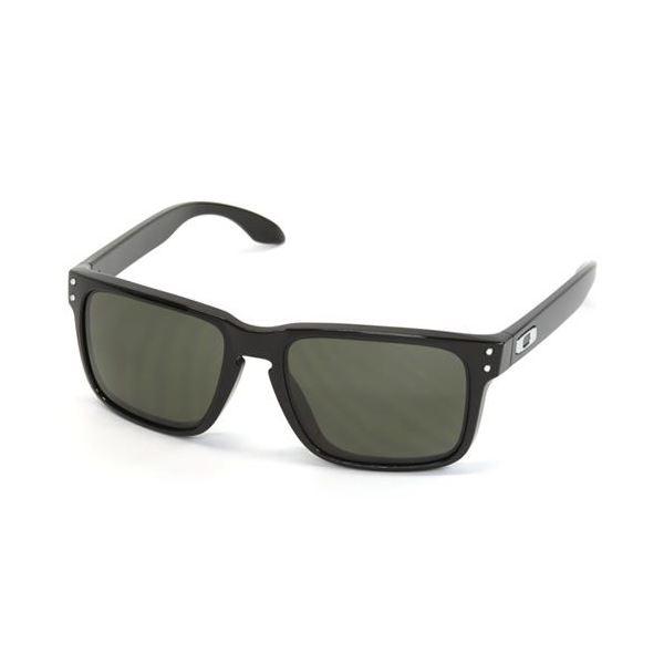 OAKLEY(オークリー) サングラス OO9244-03 HOLBROOK ポリッシュドブラック Dark Greyf00