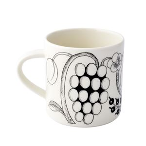 Arabia(アラビア) AR006669 Black Paratiisi Mug 350ml ブラックパラティッシ マグカップ コーヒーカップ ≪北欧食器≫