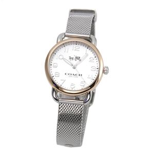 COACH(コーチ) 14502424 レディース 腕時計 デランシー ツー トーン メッシュ ブレスレット ミニ h01