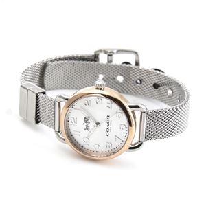 COACH(コーチ) 14502424 レディース 腕時計 デランシー ツー トーン メッシュ ブレスレット ミニ h02