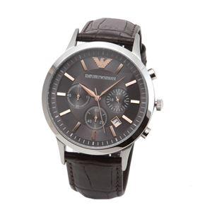 EMPORIO ARMANI(エンポリオ・アルマーニ) AR2513 クロノグラフ メンズ腕時計 - 拡大画像