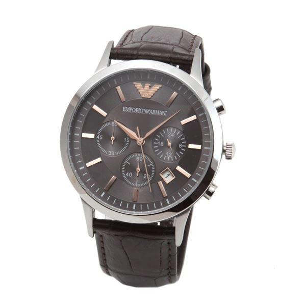 EMPORIO ARMANI(エンポリオ・アルマーニ) AR2513 クロノグラフ メンズ腕時計f00