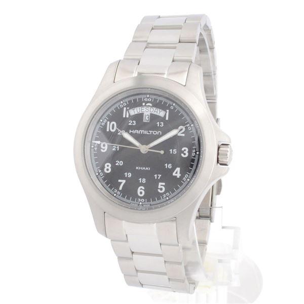 HAMILTON(ハミルトン) H64451133 カーキ キング メンズ 腕時計f00