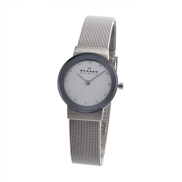 SKAGEN(スカーゲン) 358SSSD レディース 腕時計f00