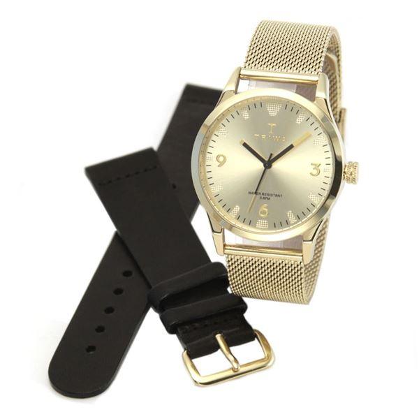 TRIWA(トリワ) LAST114.ME021313 SORT of BLACK GOLD (ソート オブ ブラック ゴールド ゴールド メッシュ) メンズ 腕時計(女子にも人気)f00