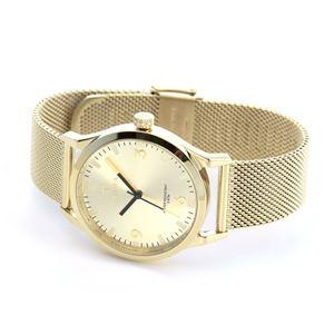 TRIWA(トリワ) LAST114.ME021313 SORT of BLACK GOLD (ソート オブ ブラック ゴールド ゴールド メッシュ) メンズ 腕時計(女子にも人気) h02